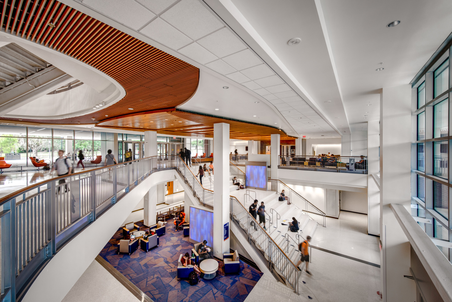 University of florida reitz student union cannondesign - Interior decorator students for hire ...