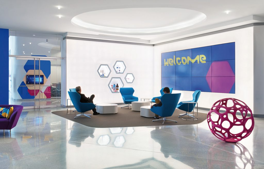 Milliporesigmas new 280000 sf life sciences center functions as a hands on collaborative environment where customers work alongside the companys