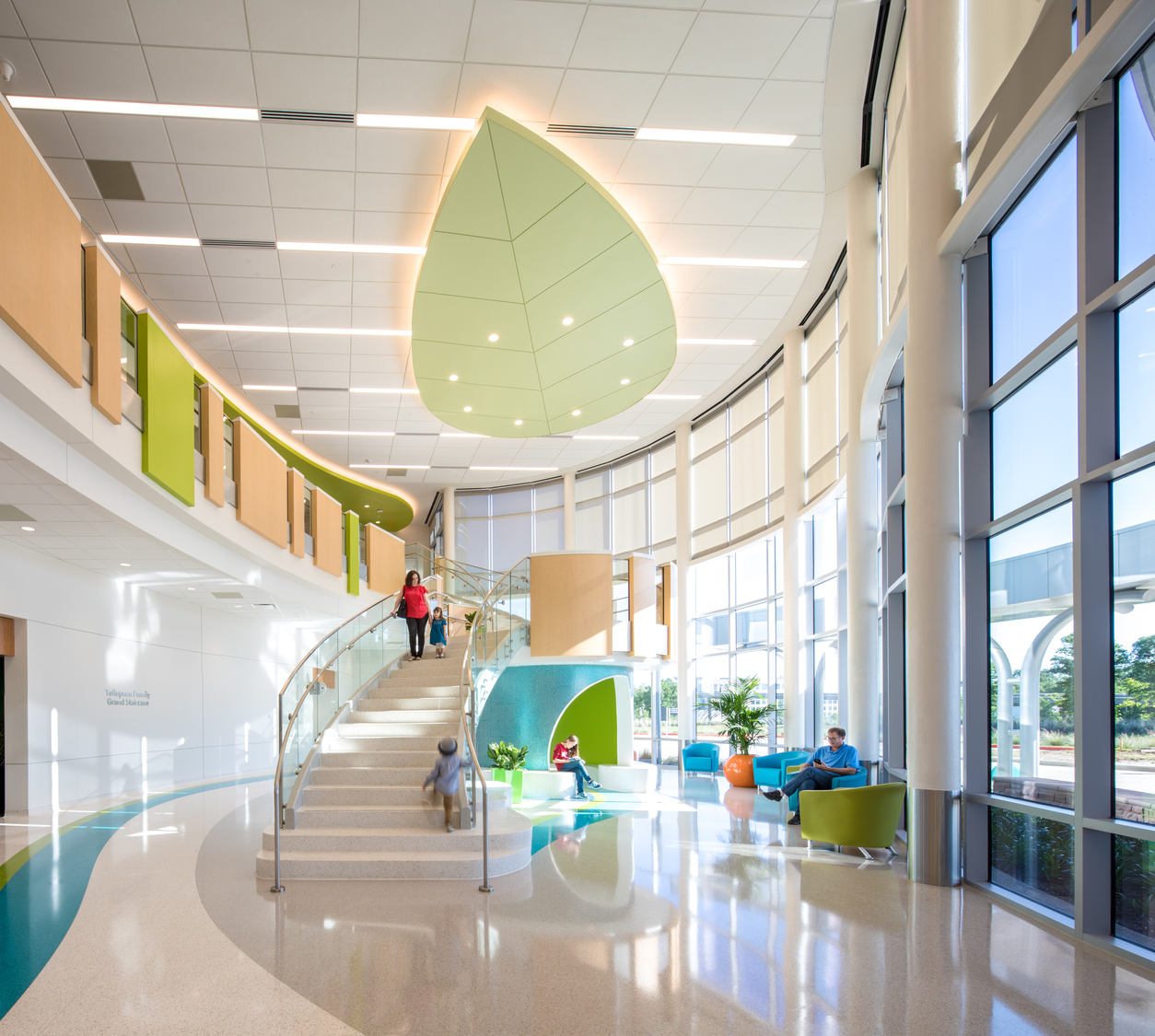 Texas children s hospital the woodlands cannondesign - Interior designers the woodlands tx ...