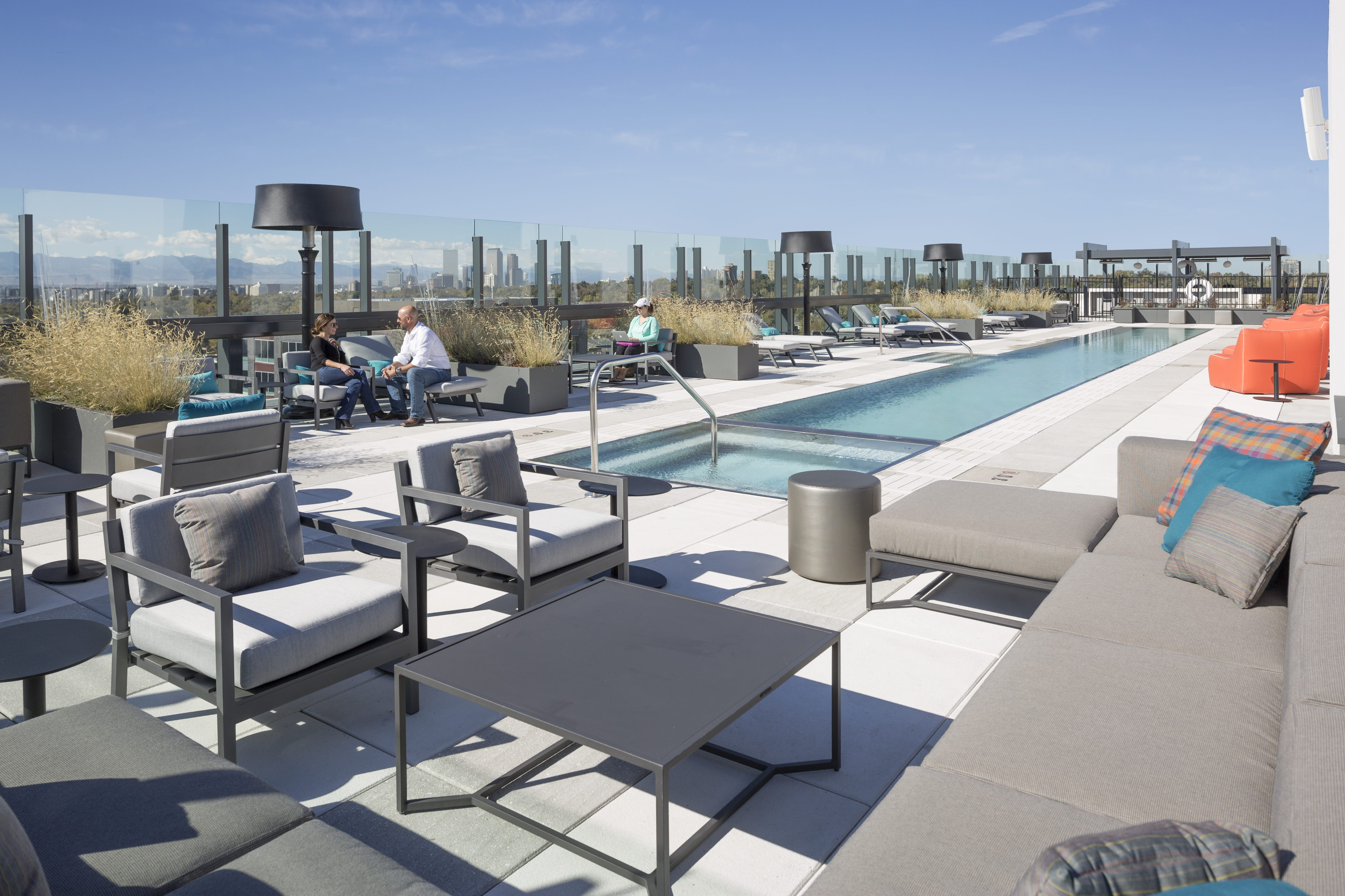 Jacquard Hotel Rooftop Cannondesign