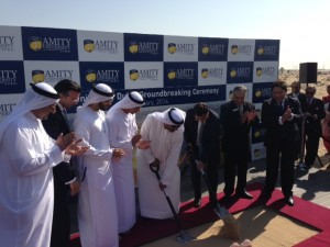 Amity Groundbreaking Jan 2014
