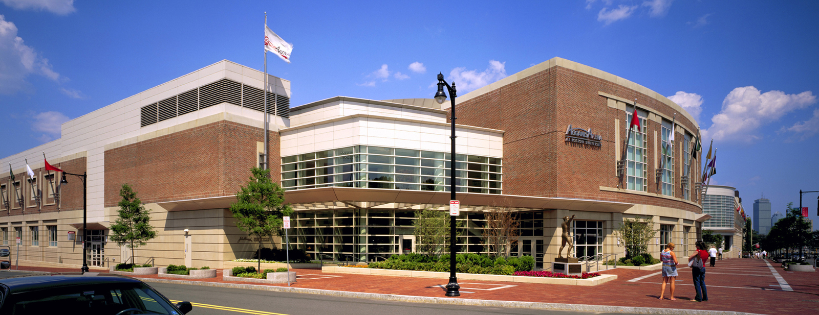 Boston University, Fitness and Recreation Center, and Agganis Arena, Boston, MA