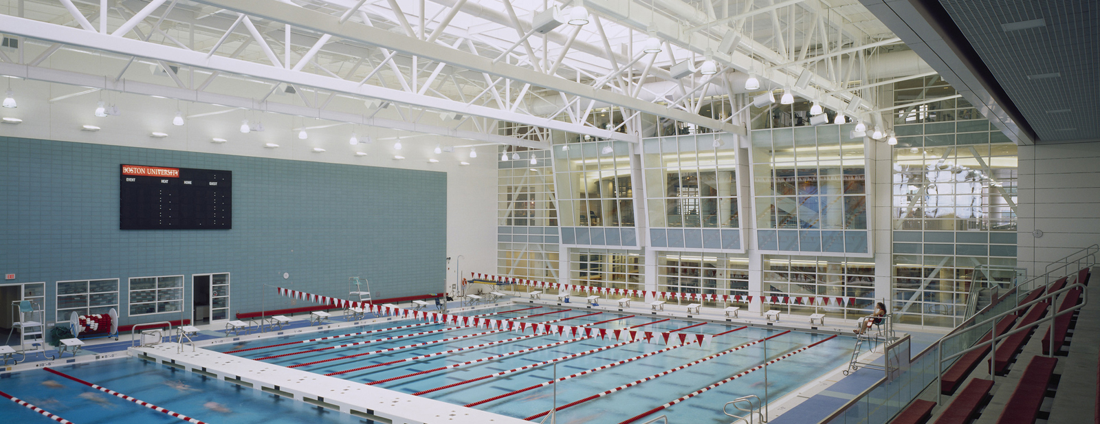 Boston University Fitness And Recreation Center And Agganis Arena Cannon Design