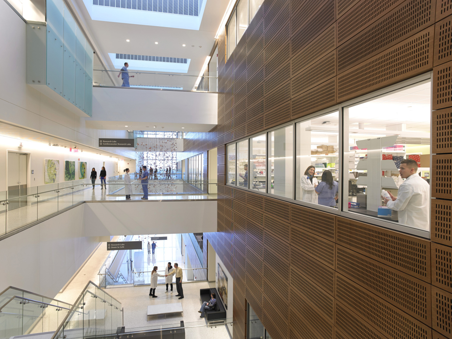 Gates vascular institute a new model for medical - Interior design schools buffalo ny ...