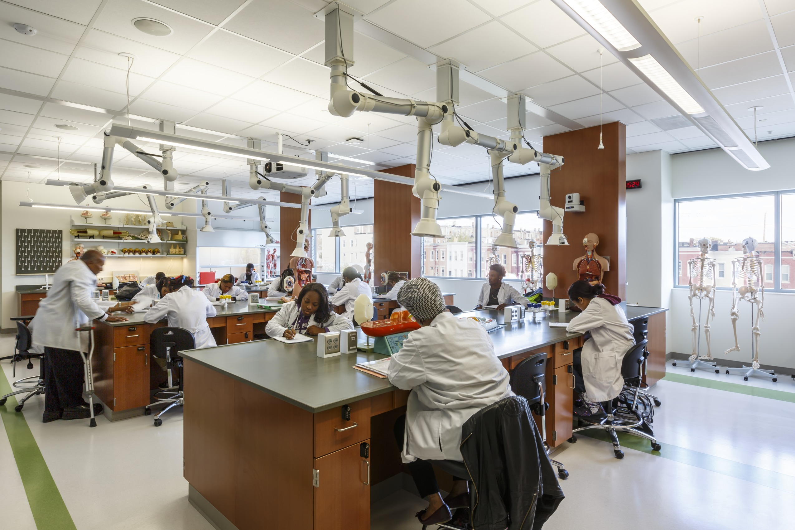 Lab Design Newsletter Profiles Coppin State Stem Facility