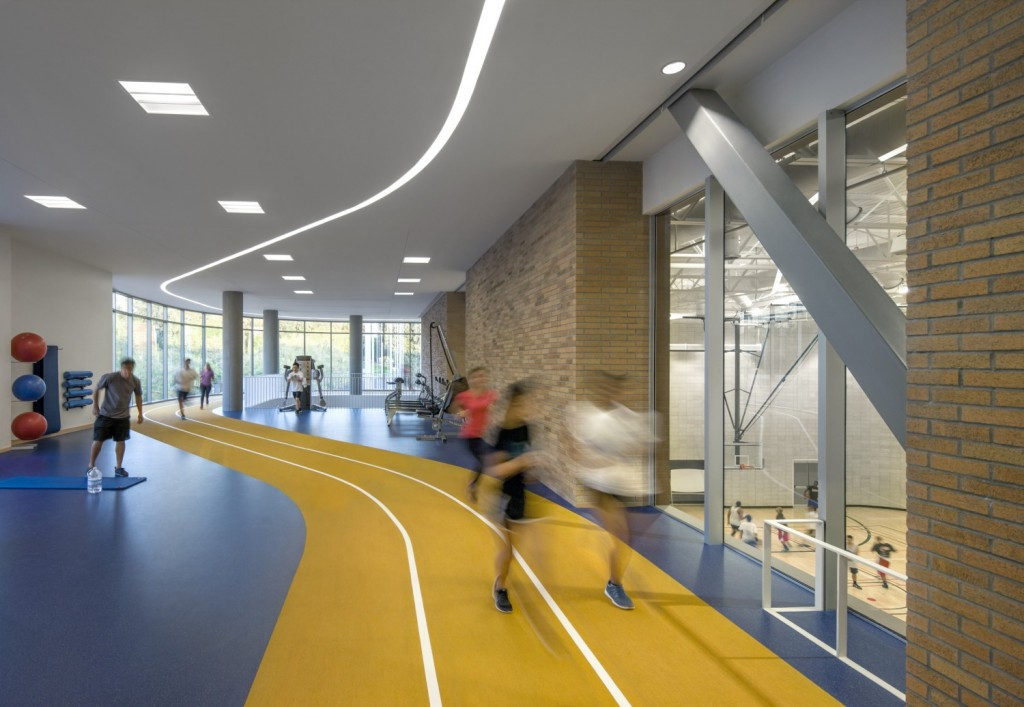 College Recreation Center Indoor Track
