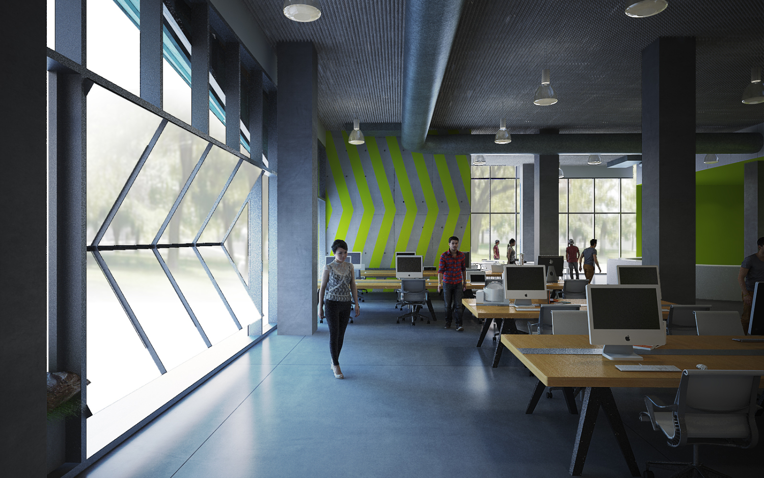 Incubator spaces innovation hubs how to design for Whitespace architects careers