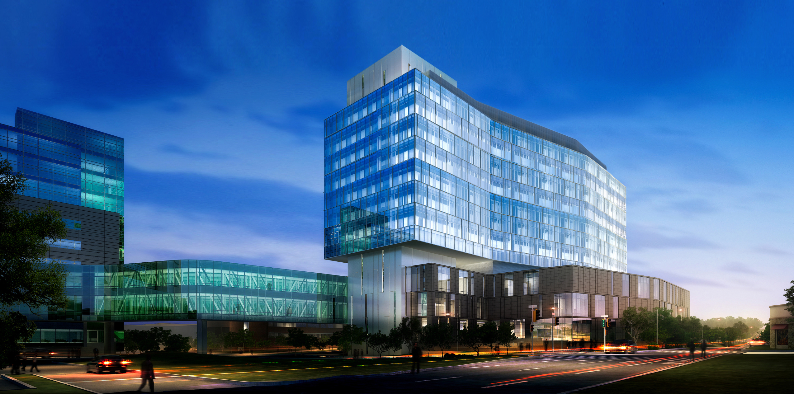 City Of Dallas Careers >> The University of Kansas Hospital, Cambridge Tower A | Cannon Design