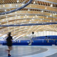 Richmond Olympic Oval Featured in Naturally Wood