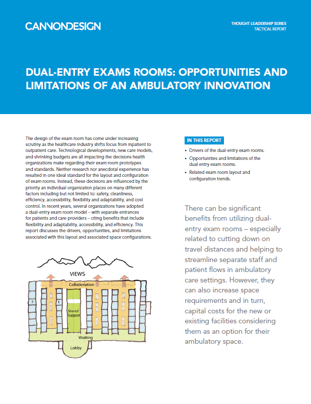 Dual Entry Exam Rooms