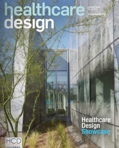 Kaiser Permanente's Radiation Oncology Center on the cover of Healthcare Design