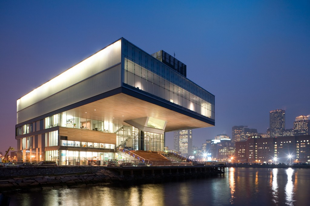 Institute of Contemporary Art, designed by Diller Scofidio + Renfro. Photo by Ekabhishek.