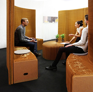 Workplace Design Privacy Screen - MoloScreen
