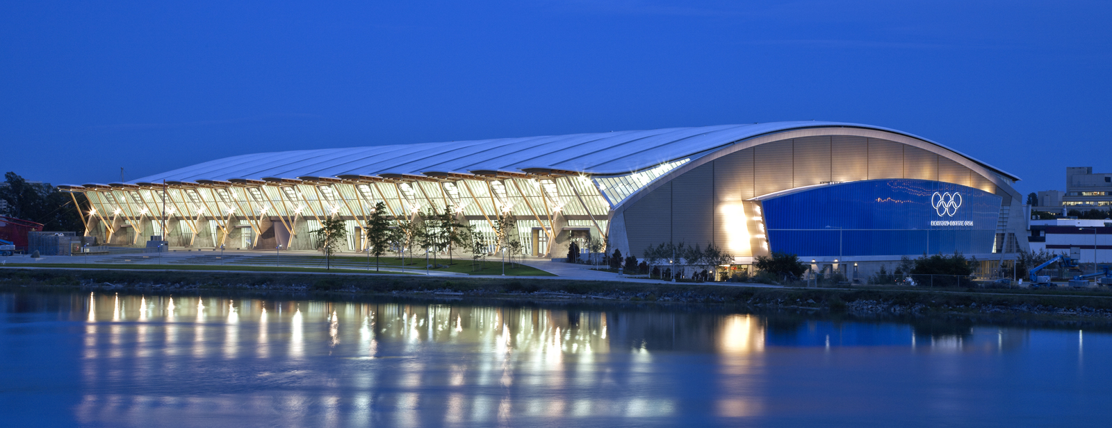 Oval chicago structure richmond olympic oval cannondesign