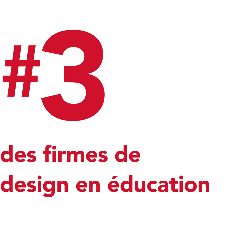 #3 des firmes de design en education