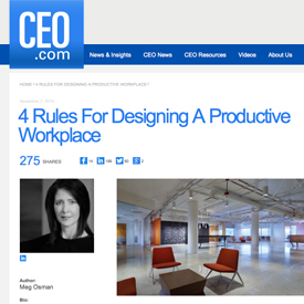 Cannondesign 39 s chicago office driving teamwork for Office design rules of thumb