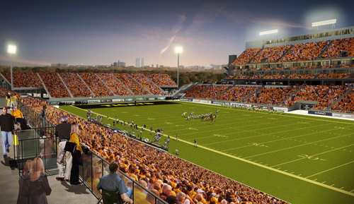 PanAm Hamilton Soccer Stadium Sports Design