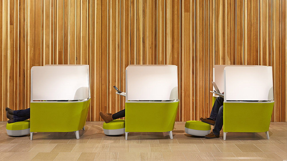 Workplace Design Privacy Desks