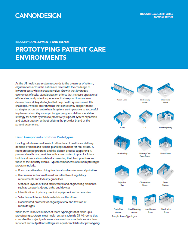Prototyping Patient Care Environments