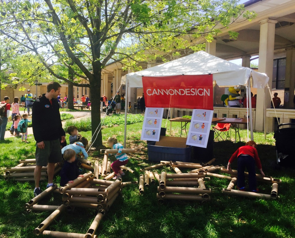 CannonDesign team members learned when we took part in the 2015 St. Louis Earth Day celebration this April.