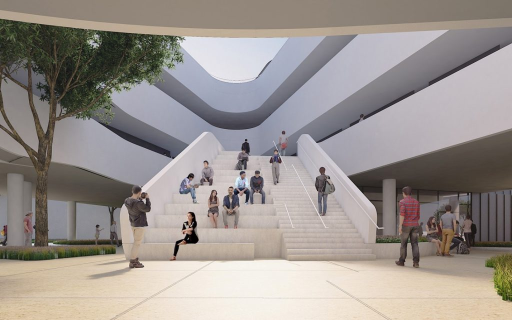 design unveiled for santa monica college s math and science addition