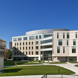 Simmons College, School of Management and Academic Building, Boston, MA