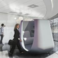 Fast Company Helps Unveil Sona - A Mobile Lactation Pod for Working Mothers