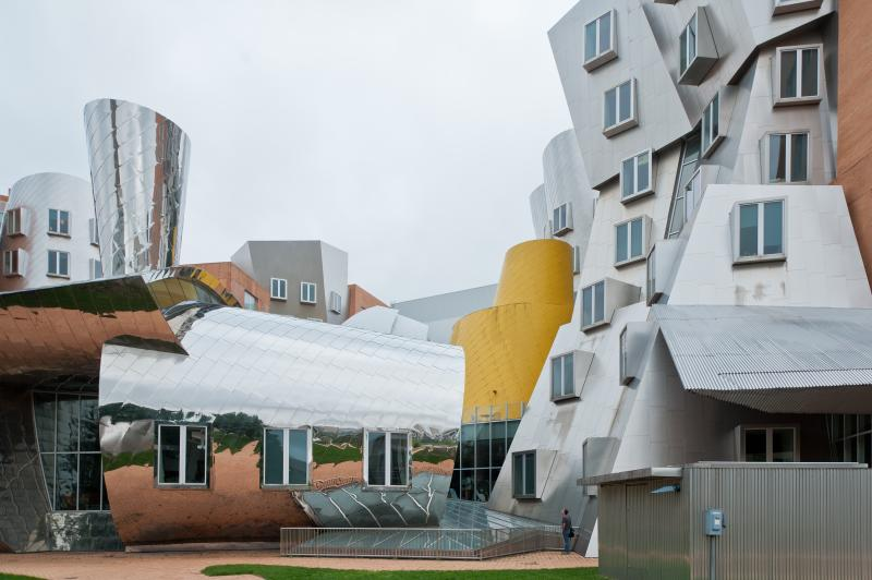 MIT's Ray and Maria Stata Center for Computer, Information, and Intelligence Sciences. Designed by Frank Gehry. Photo by Jacqueline Poggi.
