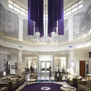 Texas Christian University, Mary Wright Admission Center, Fort Worth, Texas