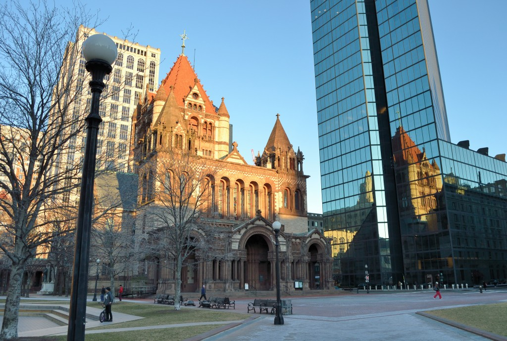 Boston's Trinity Church, designed by Henry Hobson Richardson. Photo by jpellgen.
