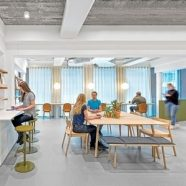 Interior Design Profiles Uber EMEA's Amsterdam Office