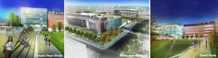 Coppin State University Design Intent Renderings