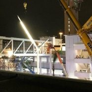 LAX Pedestrian Bridge Successfully Removed From Central Terminal Area