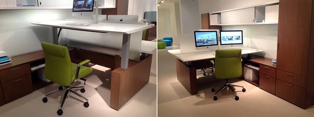 Standing Desk Bernhardt Design Compositions