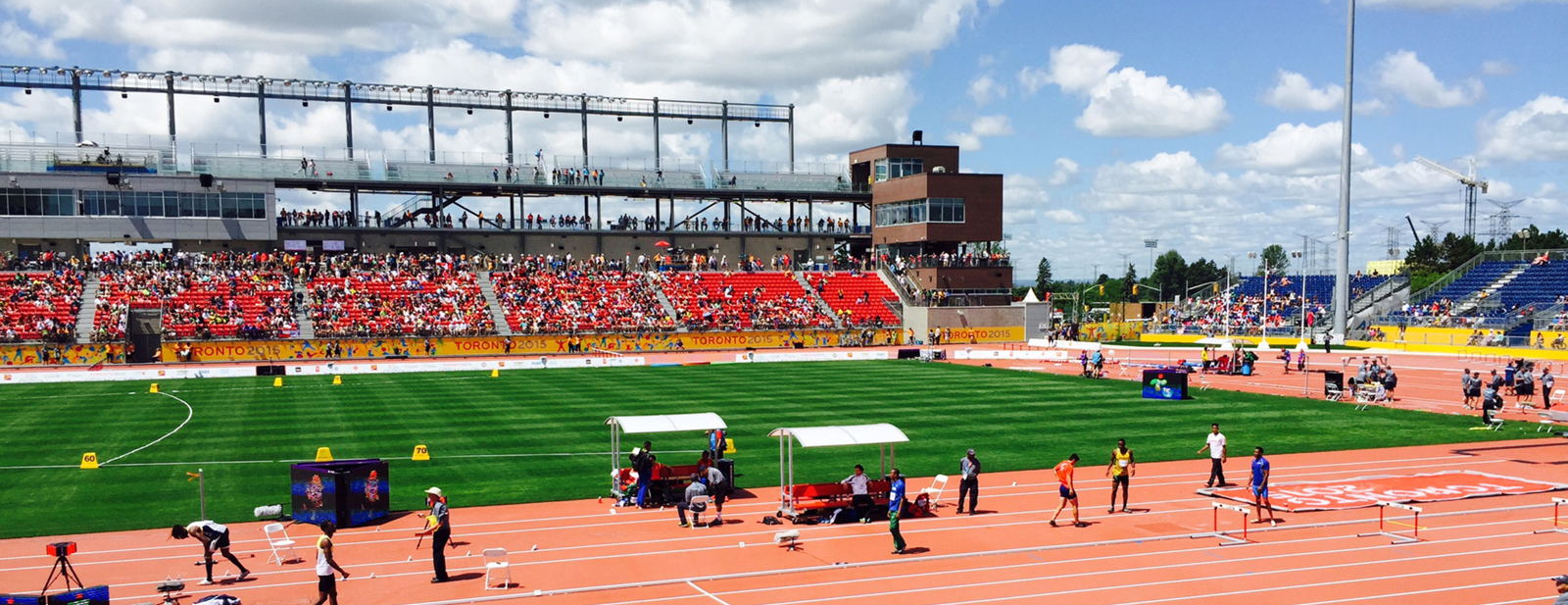 York University, Track and Field Training Facility, Toronto, ON