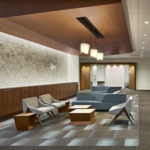 office design interior. Zurich North America. Flexera Strategic Office Design Interior E