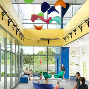St. Louis Children's Hospital Specialty Care Center Wins Award for Patient-centered Design