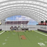 University of Maryland Dedicates Indoor Practice Fields at Cole Fieldhouse