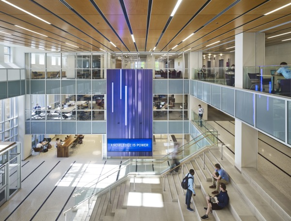 "TCU, Mary Couts Burnett Library, featured in Library Journal's ""Year in Architecture 2016"""