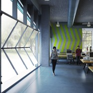 incubators and innovation centers inspire workplace design