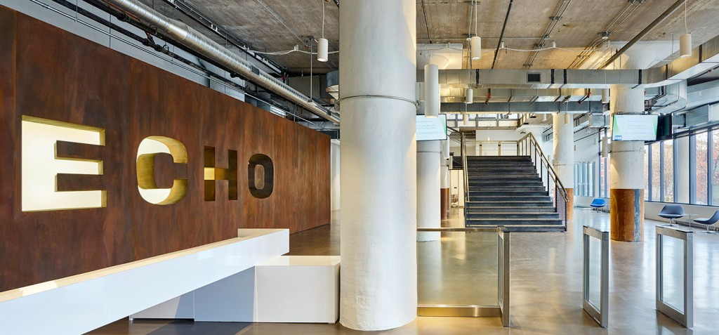 Echo Global Logistics Chicago Office Is Featured In Interior Designu0027s New  Roundup: 8 Design Minded Offices In The U.S. The Article Celebrates The  Space For ...
