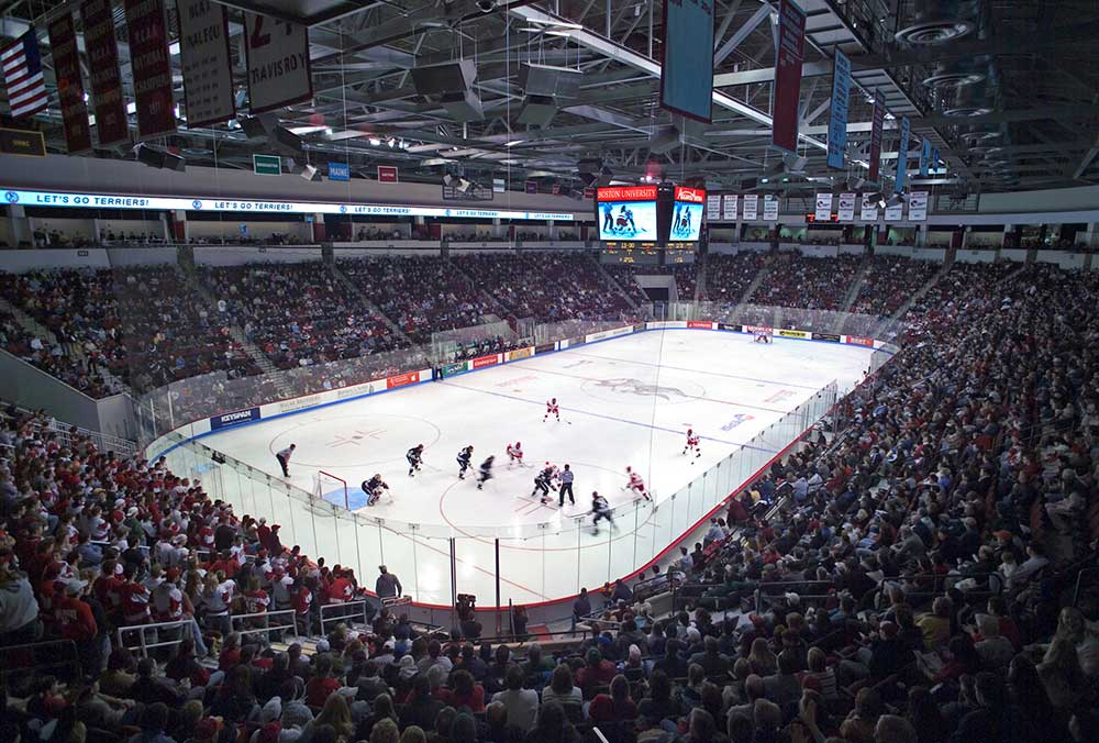 Boston University's Agganis Arena