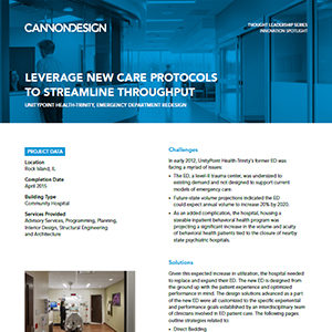 leverage new care protocols