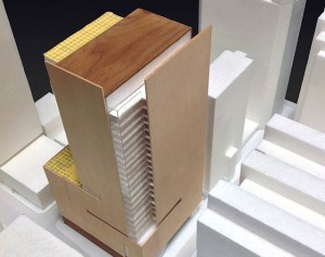 Project models capture the vision for the building.