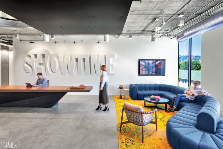 Interior Design Publishes Showtime S Eye Catching Flagship Hq Cannondesign