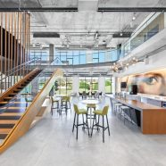 Interior Design Publishes Showtime's Eye Catching West Coast HQ