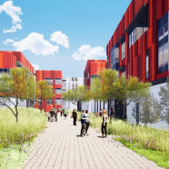 Healthcare Design Shares First Look of LAC + USC Restorative Care Village